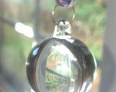 Chandelier Crystal 30mm Smooth Ball Prism Ball Ornament Shabby Chic Hollywood Regency