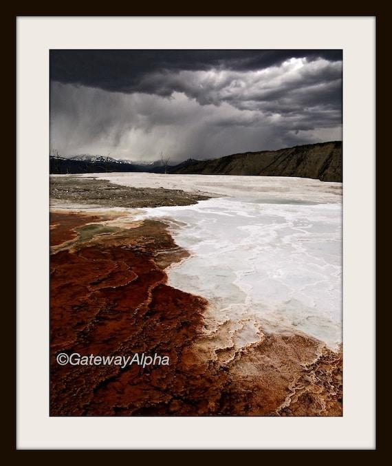 Instant Download Landscape Yellowstone Digital By Gatewayalpha