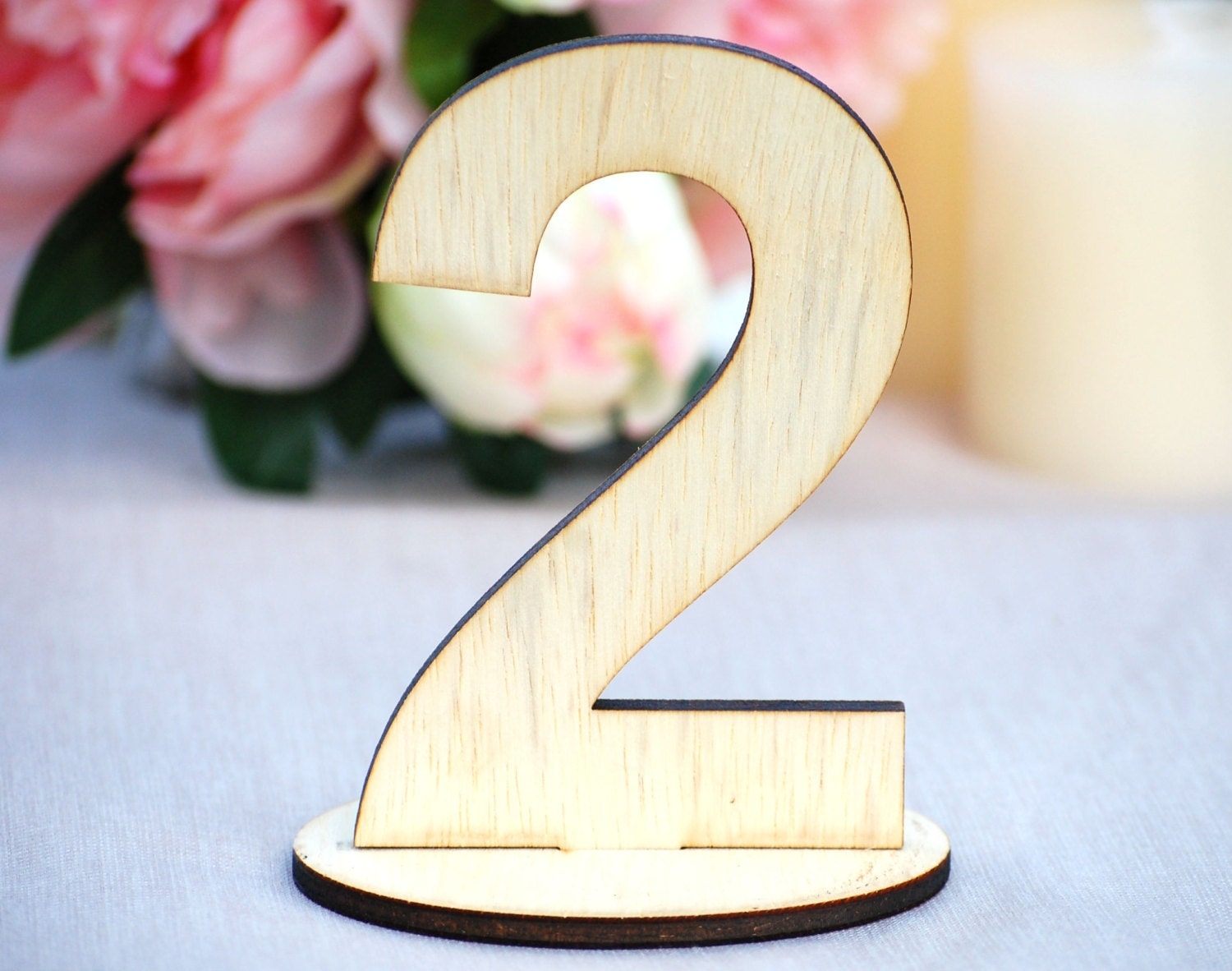 Superb img of DIY Wedding Reception Table Number Wooden by UrbanFarmhouseTampa with #A02B38 color and 1500x1182 pixels