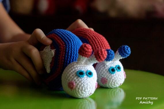 Amigurumi Stripes Tutorial : Crochet Amigurumi Pattern , Crochet Toy Pattern ,Stars And ...