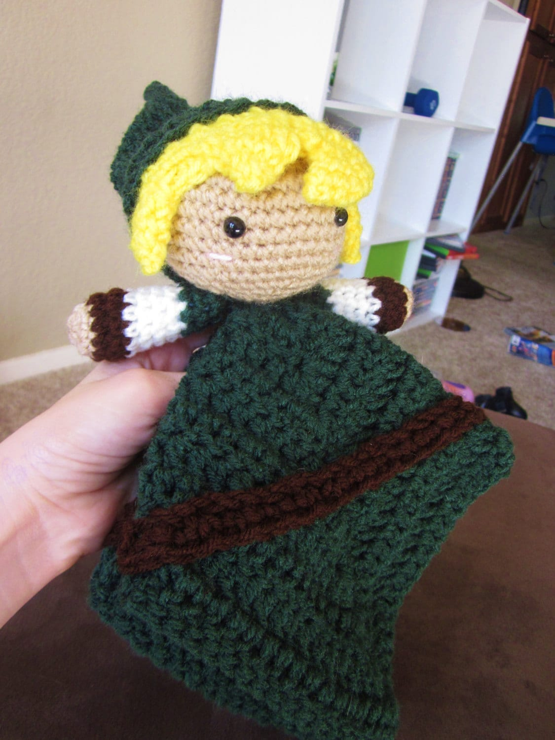 Crochet Pattern Download Link Lovey Legend of Zelda