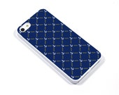 iPhone 5/5s iPhone 5c iPhone 6/6plus Samsung Galaxy S3 S4 S5 iPod touch 4th/5th Gen -  anchor nautical cobalt white  - p23