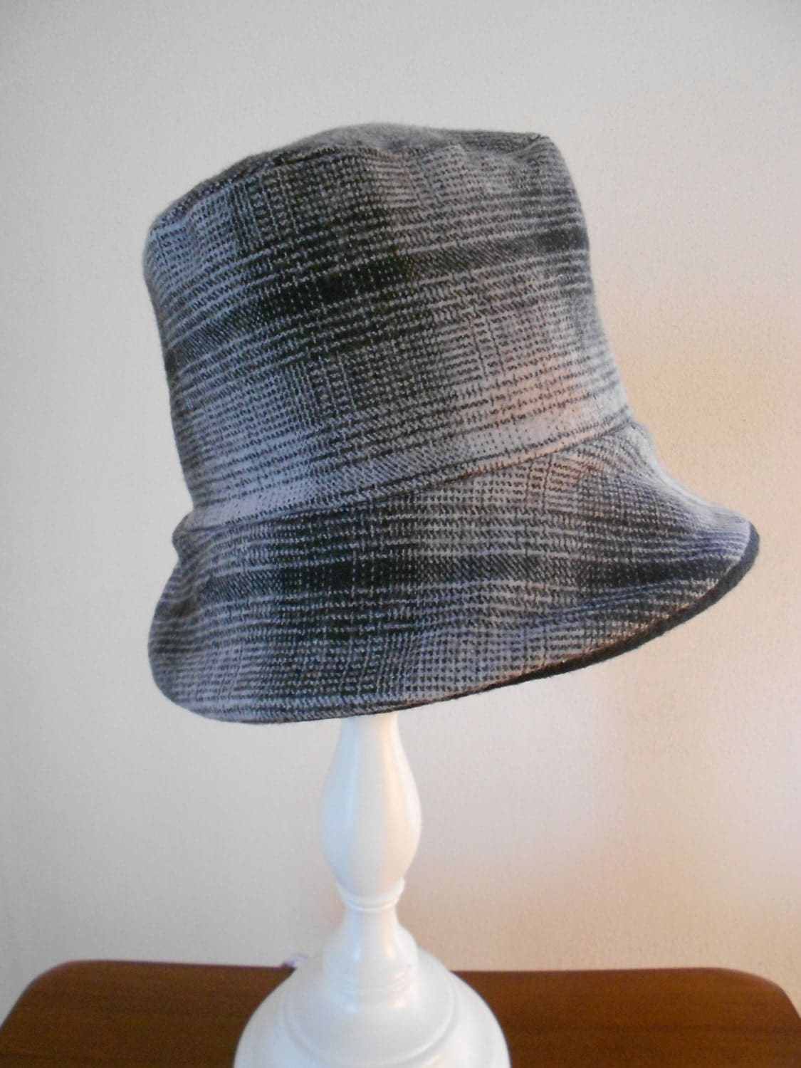 s reversible fleece and wool hat with by