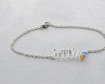 Sorority Little Sister Bracelet