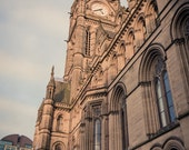 Postcard - Manchester Town Hall - Victorian Architecture - UK Seller- Stationery - Letter Writing Gift