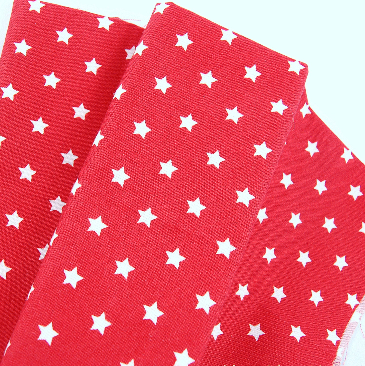 Star print fabric half meter 100 cotton white on for Star fabric australia