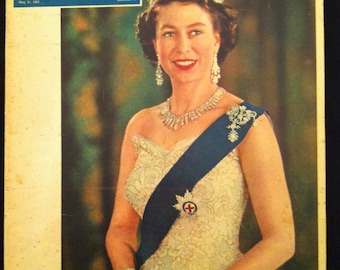 The New York Times Magazine May 31, 1953 Coronation issue Queen Elizabeth II