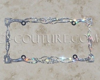 twilight license plate frame with swarovski bling