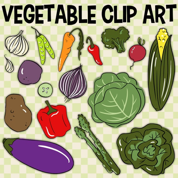 Vegetable Clip Art Carrot Clip Art Food Group Art Corn by ...
