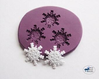 Snowflake Mold 3 - Winter Snowflakes - Silicone Molds