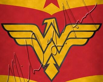 Wonder Woman Minimalist Print