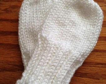 Knitting Pattern Central Baby Mittens : NO SCRATCH BABY MITTENS KNITTING PATTERN   KNITTING PATTERN