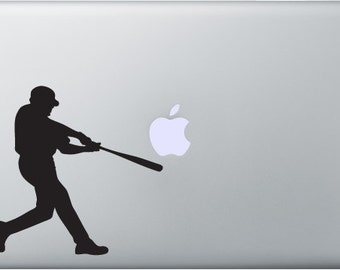 Baseball Decal for Macbooks and ipads or anything