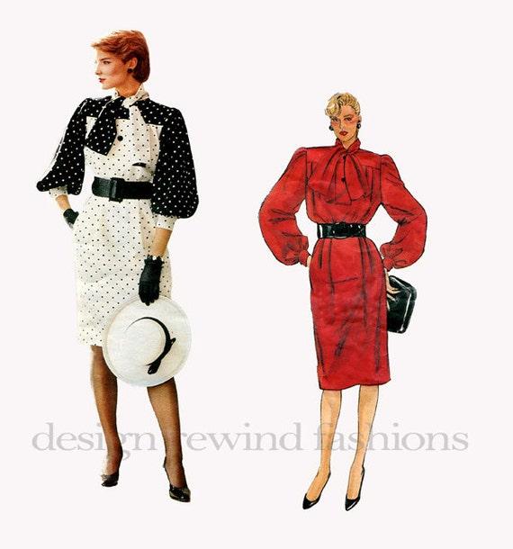 VOGUE 1316 DRESS PATTERN Givenchy Dress Pattern Cocktail Day