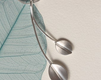 Two Leaves Pendant