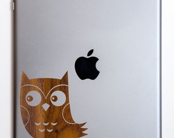 Sneaky Little Owl on iPad/ iPad Mini Decal