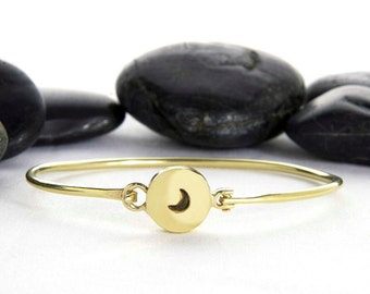 Moon, Moon Jewelry, Crescent Moon, Moon Bracelet, Space Jewelry, Moon Jewellery, Celestial Jewelry, Galaxy Jewelry, Space, Gift