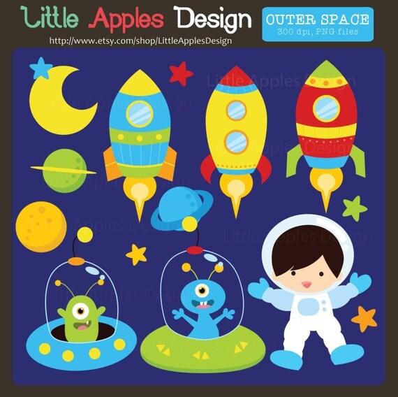 Outer space clipart outer space clip art space clip art - Dibujos infantiles del espacio ...