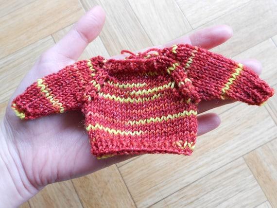 Gryffindor quidditch sweater Knit mini by CuteCreationsByLea