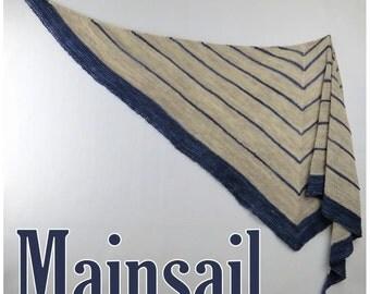 Mainsail Yarn Kit - Stunning Superwash Fingering Weight - 100% Superwash Merino