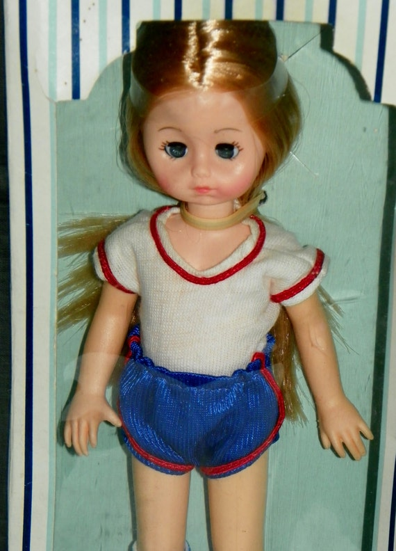 Vintage 1978 Vogue dolls Made with Love The World of Ginny Doll Soccer Sports clothes New in the Box