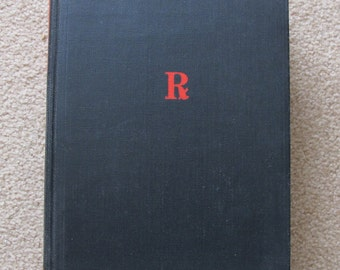 Vintage 1940 Book with Fantastic Illustrations Modern Home Medical Advisor Edited by Morris Fishbein, M.D.