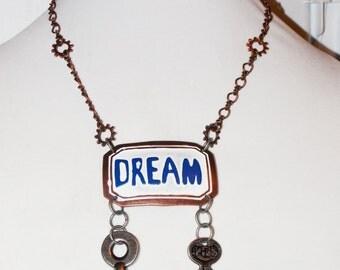 Steampunk Dream Key Necklace