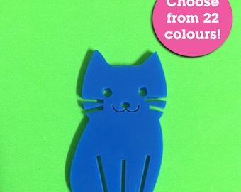 Large Kitty Cat Laser Cut DIY Supplies
