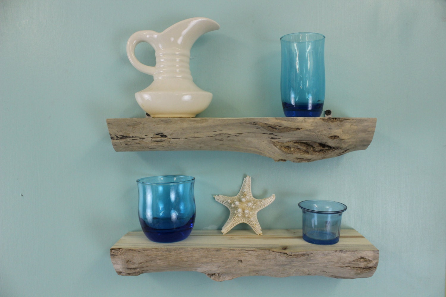 driftwood wall shelves set of 2 natural driftwood display