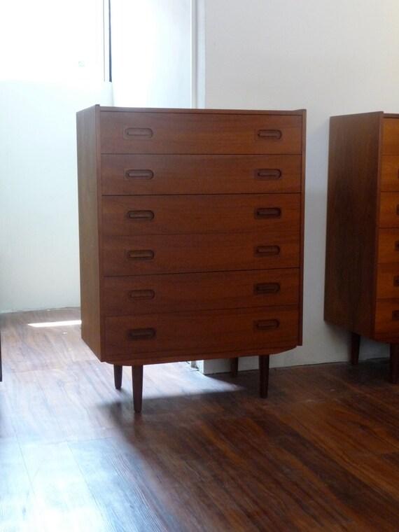 commode en teck danois dyrlund smith commode danois moderne. Black Bedroom Furniture Sets. Home Design Ideas