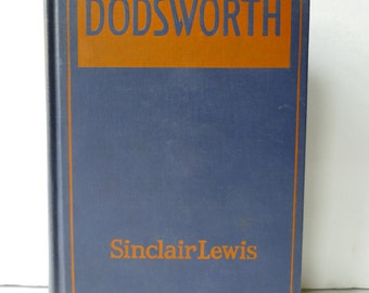 "Antique 1929 ""Dodsworth"" Book"