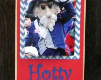 Ole Miss Hotty Toddy Clip Frame