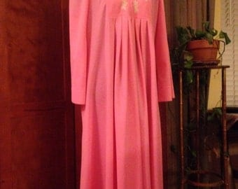 Salmon Pink Embroidered Loungewear