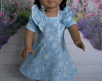 Retro 40s Dress fits American Girl Doll and 18 inch dolls