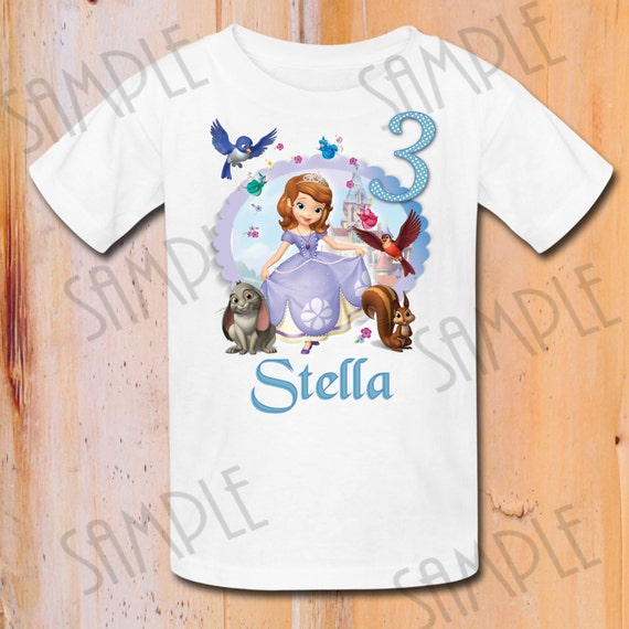 Sofia the First t-shirt | Textiel Trade Search.