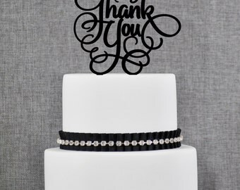 Thank You Cake Topper- (T093)