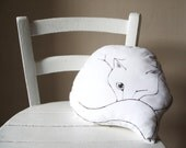 cat throw pillow white decorative pillow cats cushion gift idea for pet lovers painted stuffed animal cotton fabric cat shaped plush
