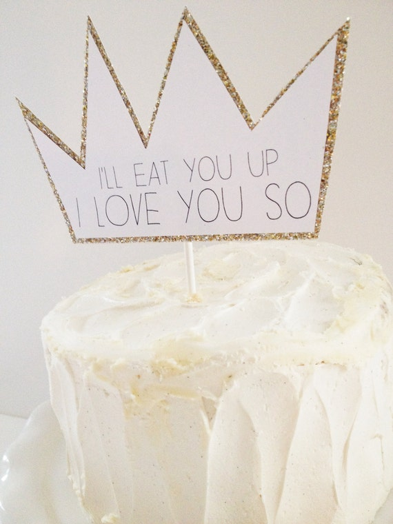 Items Similar To Cake Topper Where The Wild Things Are