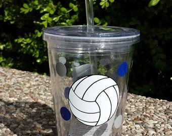 Personalized Volleyball Tumbler