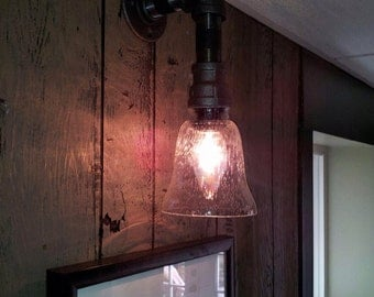Industrial Pipe Sconce Lights