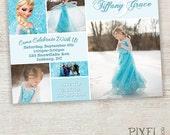 Frozen Birthday Invitation, Frozen Birthday Party, Frozen Invitation, Frozen Birthday Invitation, Disney Invitation, Elsa Ice Castle
