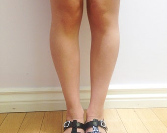 Black Jelly Shoe Size 37 EU