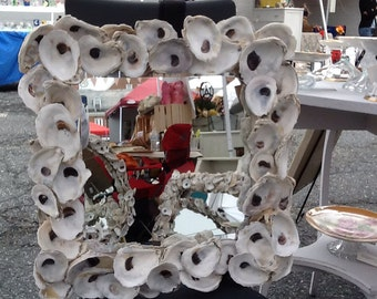 Oyster Shell Mirror