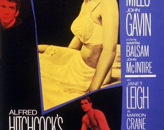 Psycho Movie Poster Digital Print Various Sizes