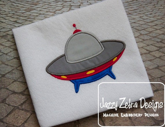 Spaceship Applique embroidery Design - space man appliqué design - space appliqué design - astronaut appliqué design