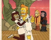 """The Simpsons """"Planet of the Apes- The Musical! """" 13 x 19 inch poster"""