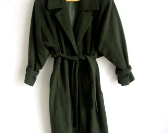 SALE!! 25% OFF!! 70s, Gunter Brand, Woman's Long Mossy Green Jacket