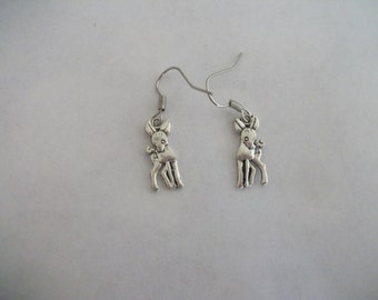 Deer earrings