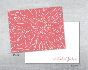 Personalized stationery. Personalized notecard. Stationery. Note card. Thank you card.