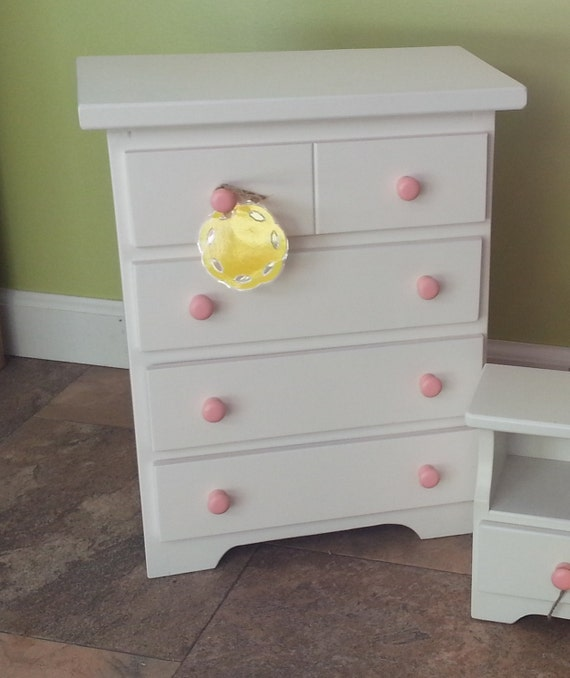 Doll Dresser Wooden Toy Furniture American Reborn By Rustictoybarn
